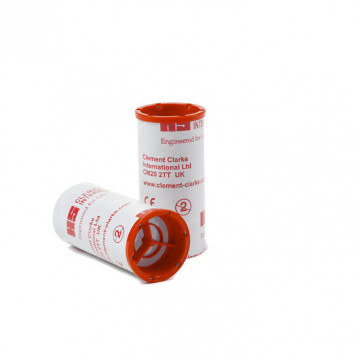 Embout carton à valve anti-retour (expiratoire) Ø 28 mm (par 50 unités)