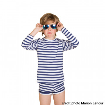 Tee-shirt enfant anti-UV « Pirate » – 2 ans – LES ULTRAVIOLETTES